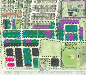 Quinn's Pointe Site Plan, Minto Communities in Barrhaven