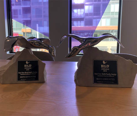 The Annex by Minto Communities wins two BILD awards. New condos for sale in Kensington, Calgary.