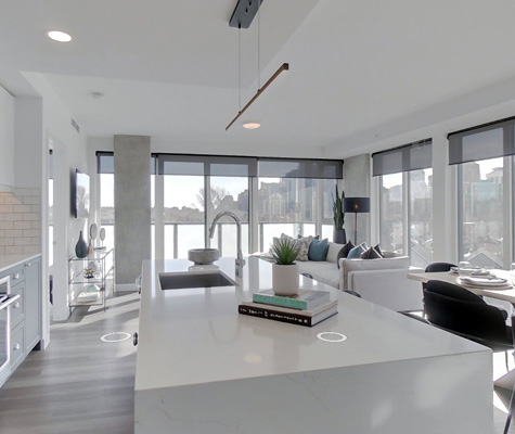 The Annex by Minto Communities new virtual tours. New condos for sale in Kensington, Calgary.