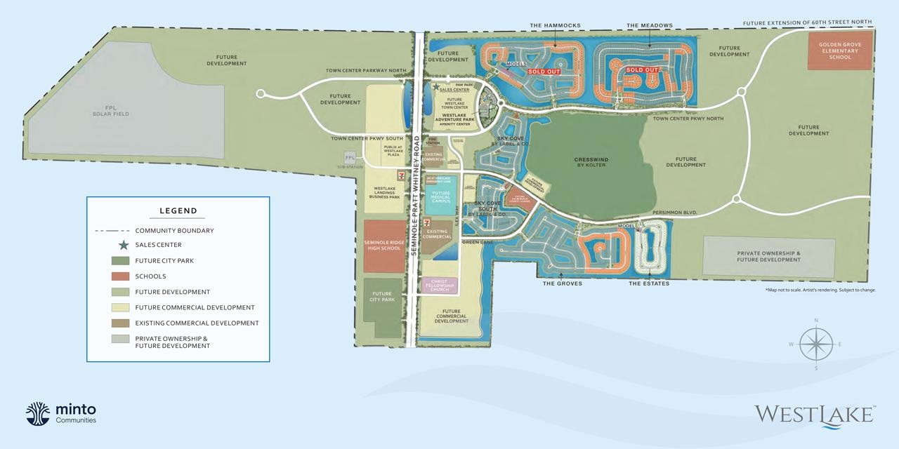 Westlake Community Siteplan