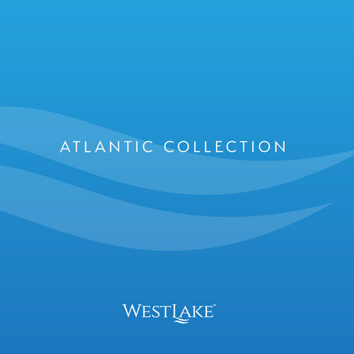 Westlake - Atlantic Collection brochure. New homes for sale in central Palm Beach County, Florida. Westlake by Minto Communities.