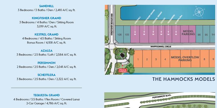 Model Row siteplan at Westlake
