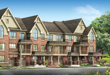 Ivy Ridge Townhomes in Whitby available now