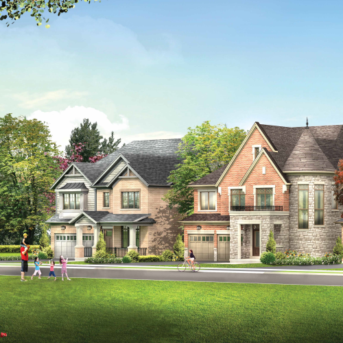 Detached homes for sale in Whitby by Minto Communities.