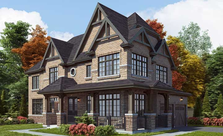 Detached Home at Union Village. Homes for sale in Union Village by Minto Communities & Metropia.