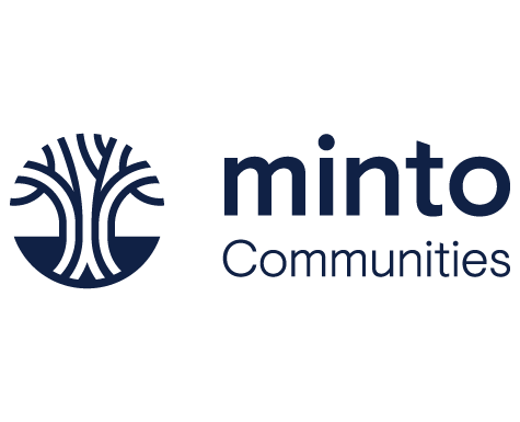 Minto Communties logo. The Saint, new condos for sale at Church & Adelaide, Toronto.
