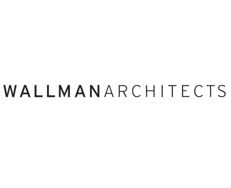 Wallman Architects logo. The Saint, new condos for sale at Church & Adelaide, Toronto.