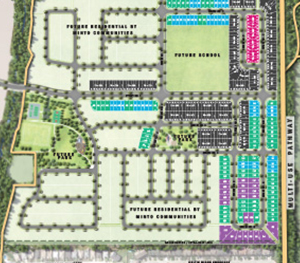 Brookline Site Plan, Minto Communities in Kanata