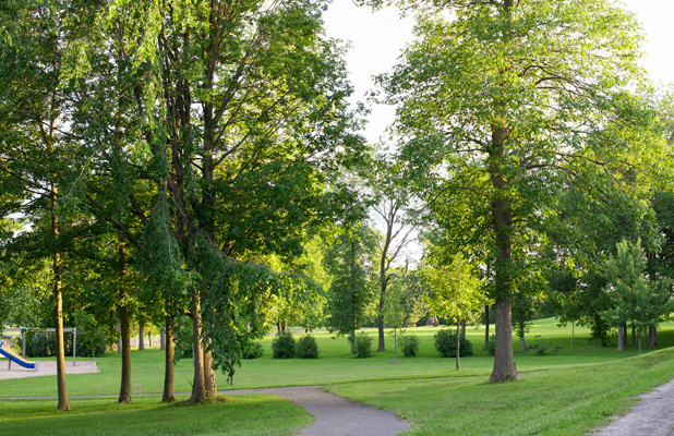 Green spaces and park in Manotick. 9 Great Reason to Live in Manotick.