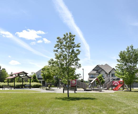 Community park in Mahogany, Manotick