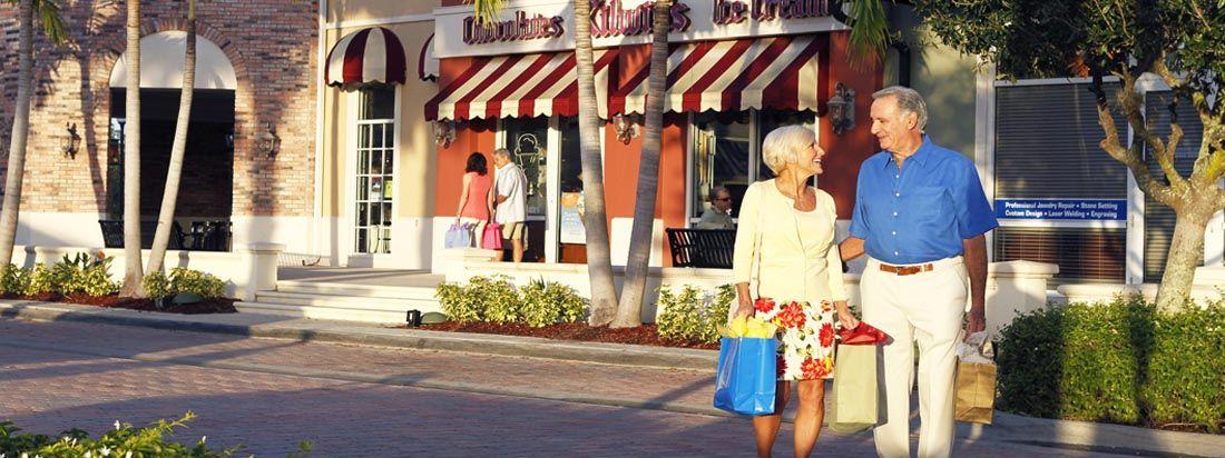 Lakepark residents shopping in town