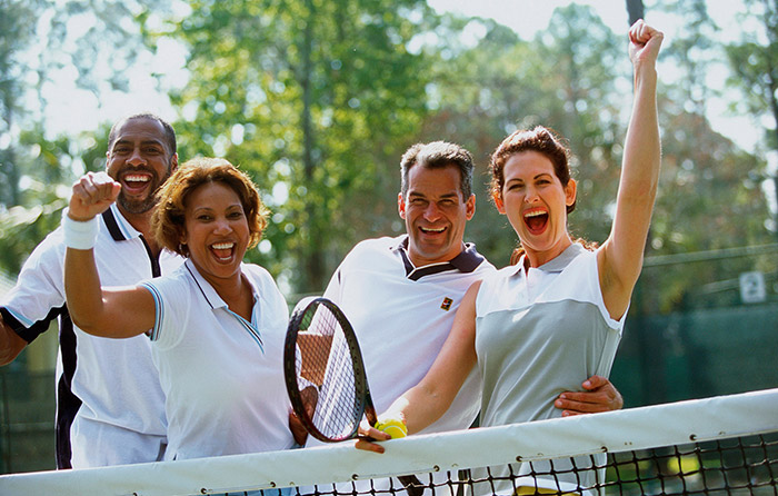 Enjoy tennis at TownPark's incredible recreational amenities