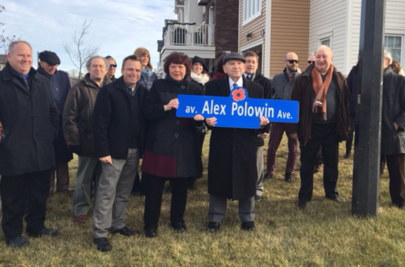 Street naming announcement in Quinn's Pointe - a community by Minto Communities