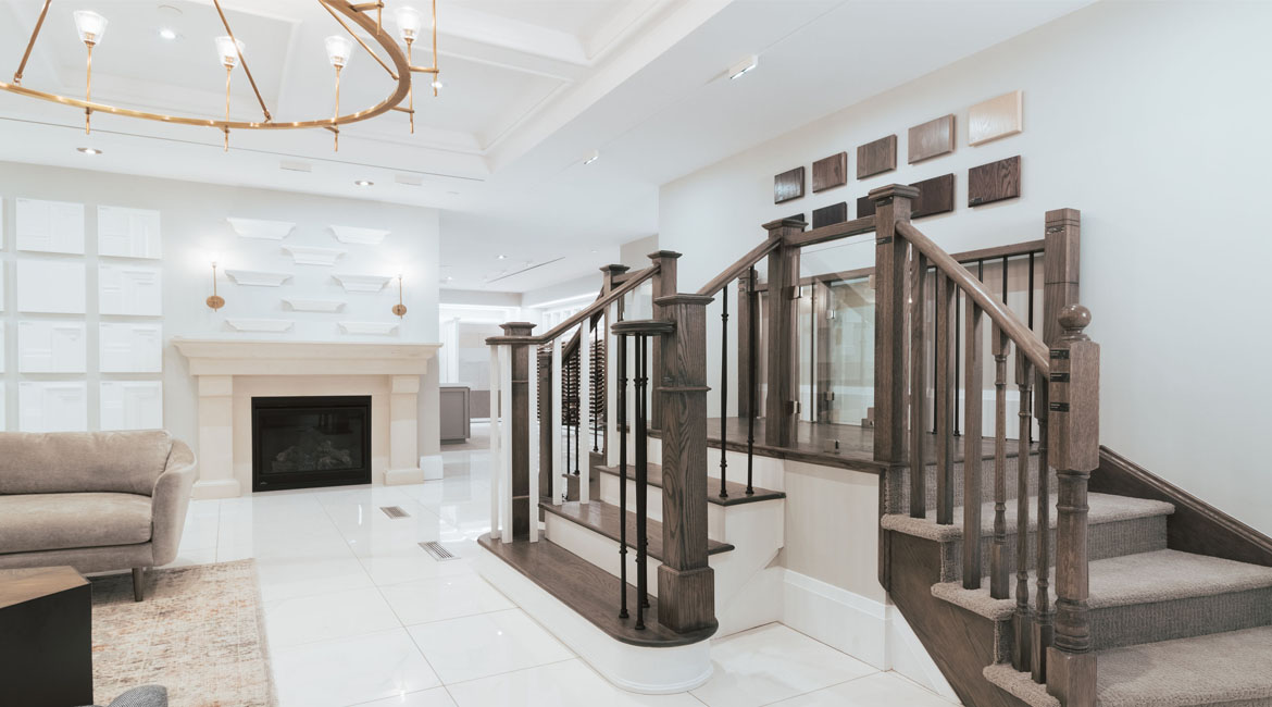 Different stair designs for your new Minto home
