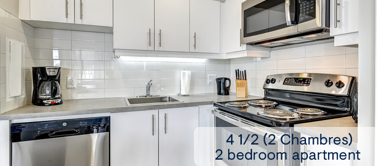 Suites For Rent Near Downtown Montreal