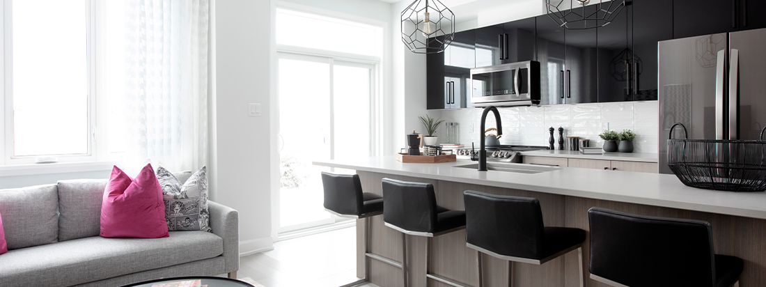 Haven - Executive Townhome - Kitchen - by Minto Communities