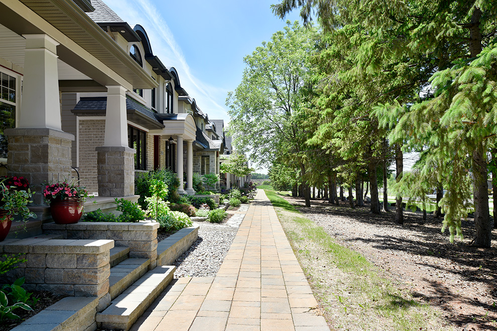 Pathway in Mahogany – a community in Manotick, by Minto Communities