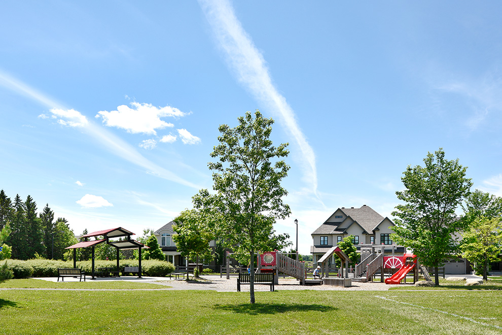 Park in Mahogany – Green Space - a community in Manotick, by Minto Communities