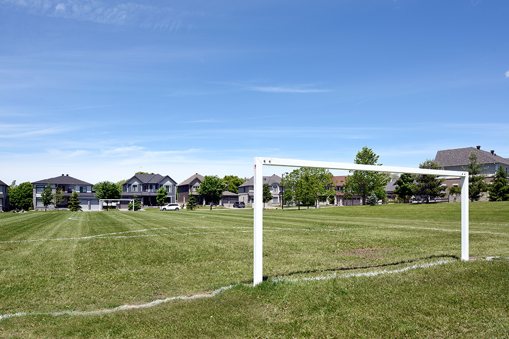 Soccer field – Green space - in Mahogany a community in Manotick, by Minto Communities
