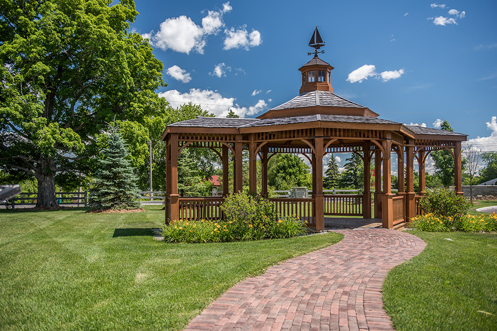Gazebo - in a Mahogany, a community in Manotick, by Minto Communities