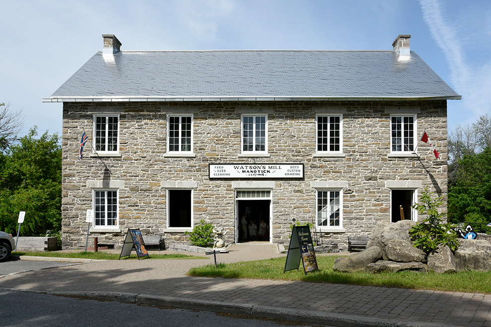 Watson's Mill in Manotick Village - located near Mahogany, a community by Minto Communities