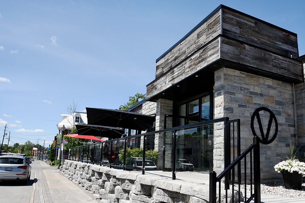 Restaurant located in Manotick Village - near Mahogany, Manotick, a community by Minto Communities