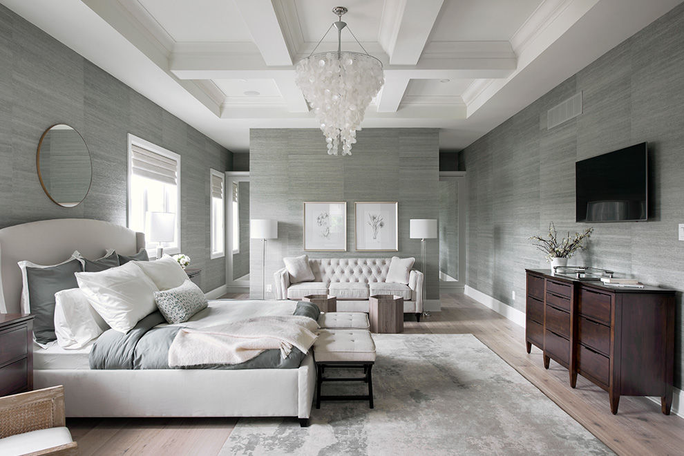 The Cheo Home - Single Family Home - Master Bedroom - built by Minto Communities