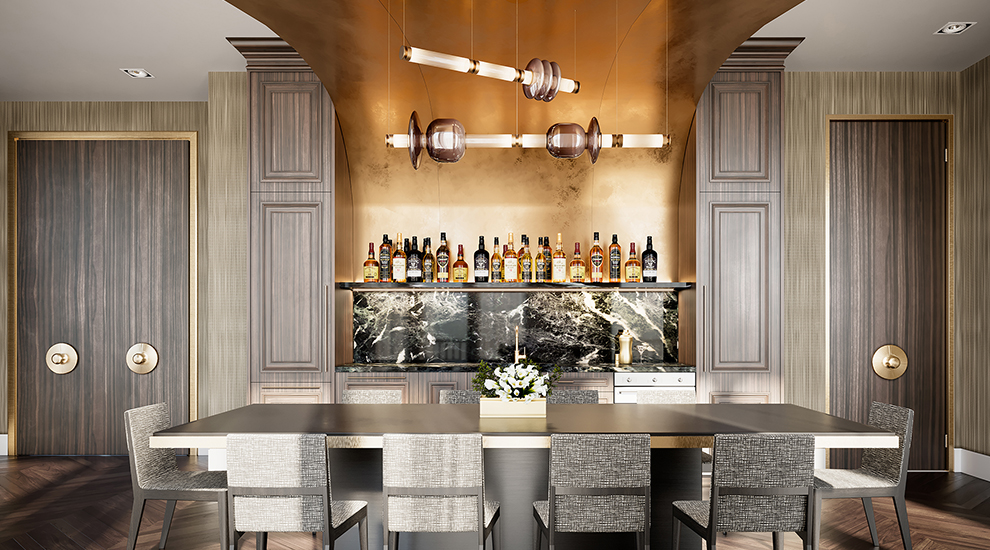 The Kitchen Bar + Dining Room at 123 Portland