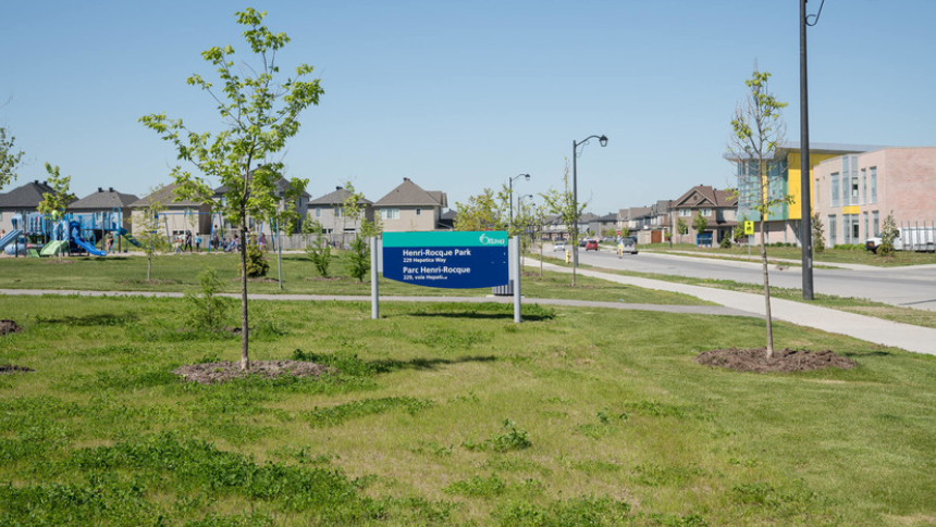 Park in Avalon, Orleans - a community by Minto Communities