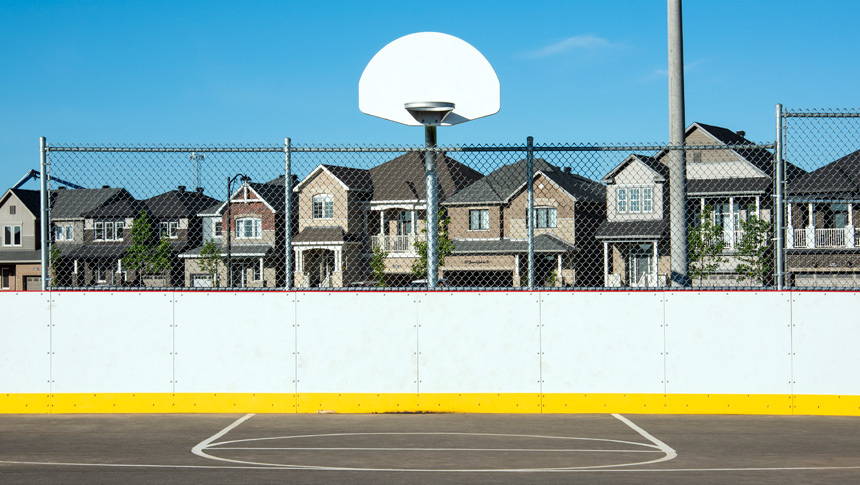 Basketball court at Don Boudria Park in Avalon, a community by Minto Communities