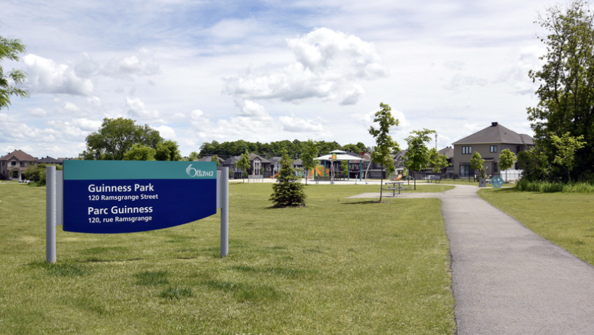 Guinness Park in Quinn's Pointe, Barhaven - a community by Minto Communities