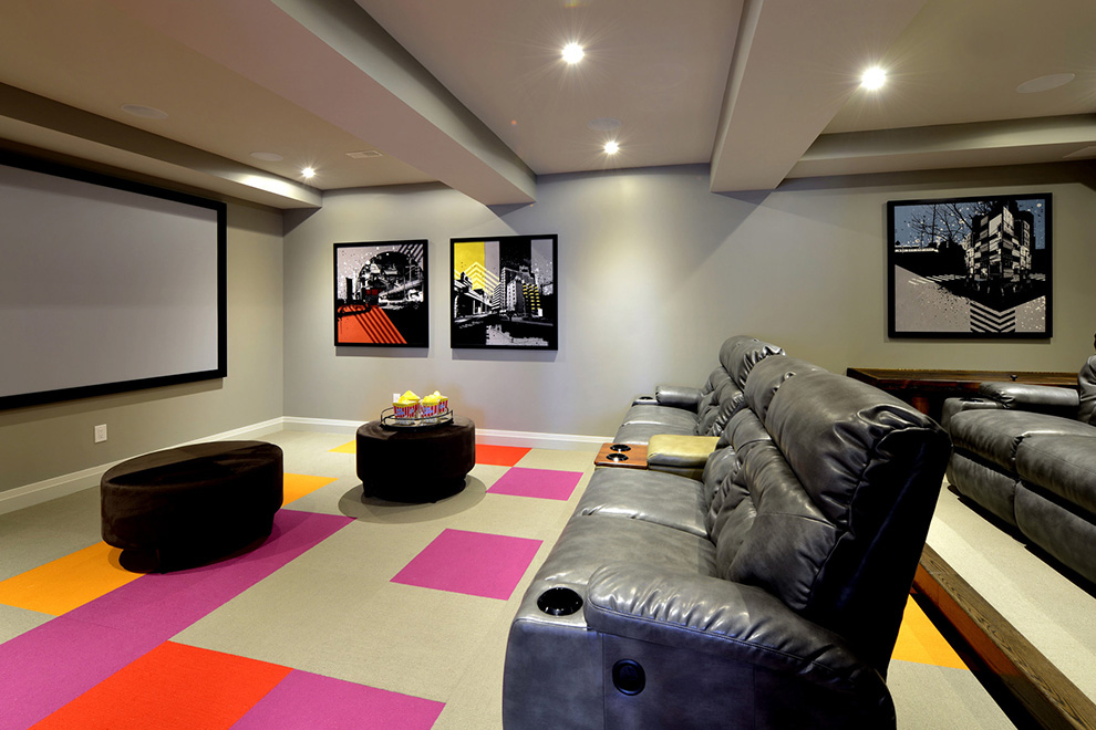 The Cheo Home - Single Family Home - Home movie theater - built by Minto Communities