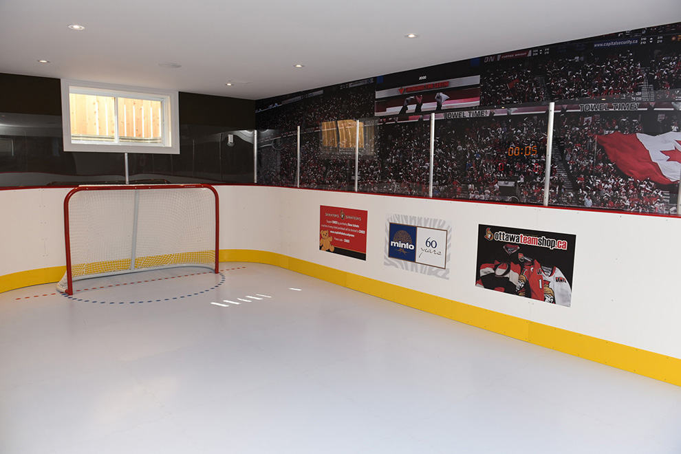 The Cheo Home - Single Family Home - Hockey rink - built by Minto Communities