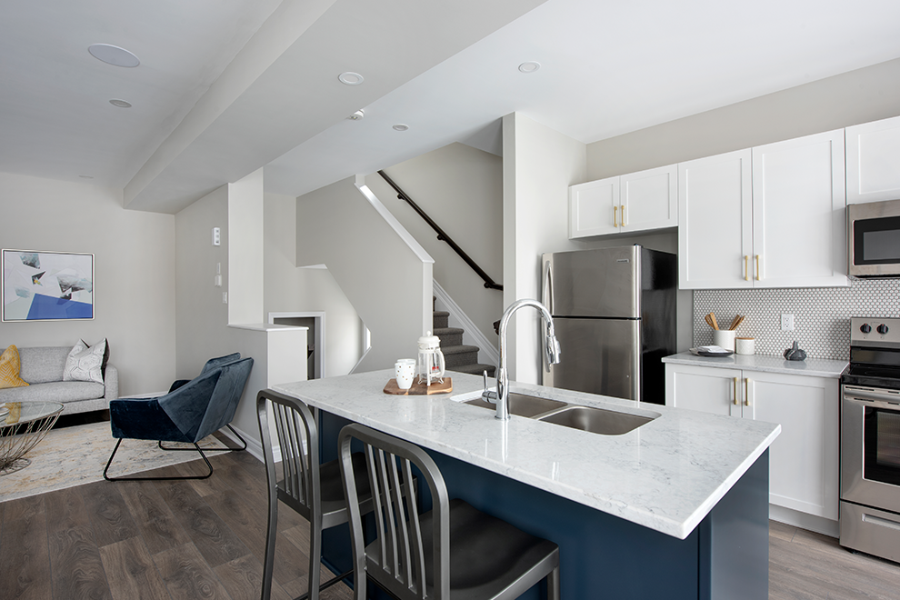 Canal - Avenue Townhome - Kitchen - by Minto Communities