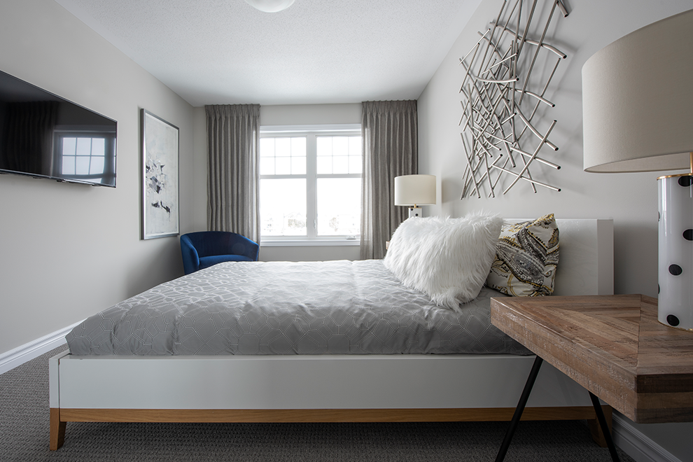 Canal - Avenue Townhome - Bedroom - by Minto Communities