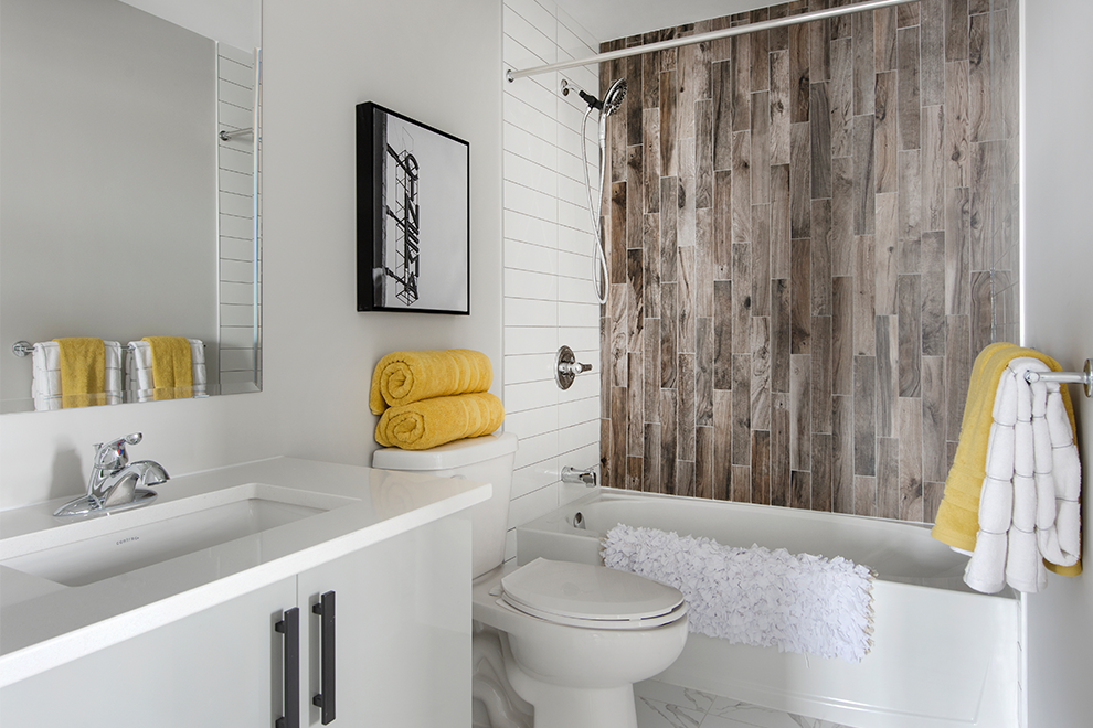 Canal - Avenue Townhome - Bathroom - By Minto Communities
