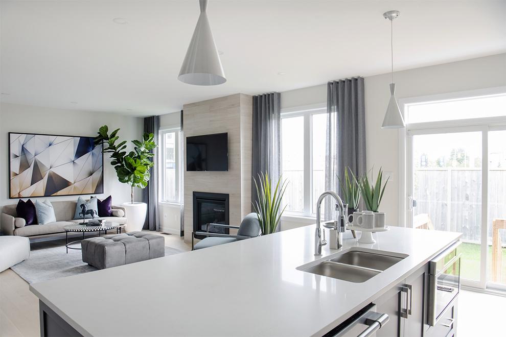 Clairmont Living Room, Minto Communities Ottawa