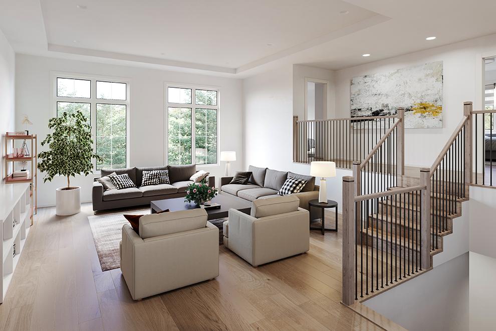 Mapleton - Single Family Home - Sunken Family Room