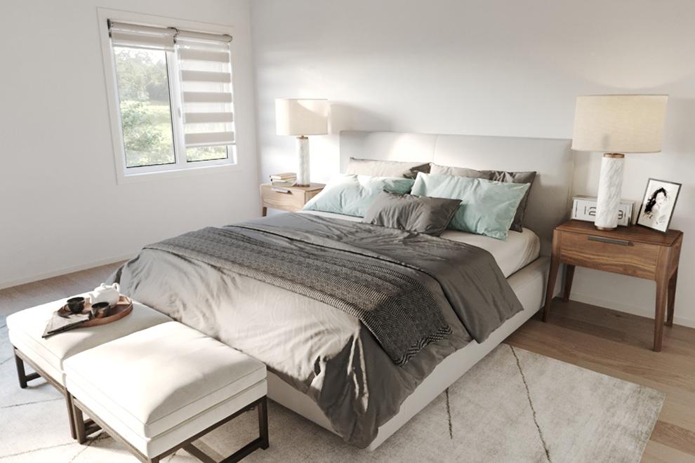 Mapleton - Single Family Home - Master Bedroom