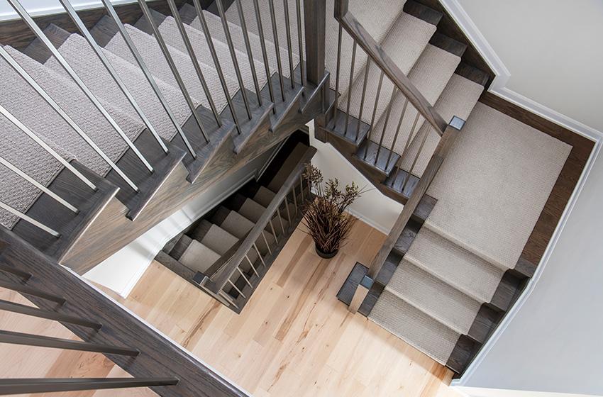 Clairmont Staircase, Single Family Home - Minto Communities Ottawa