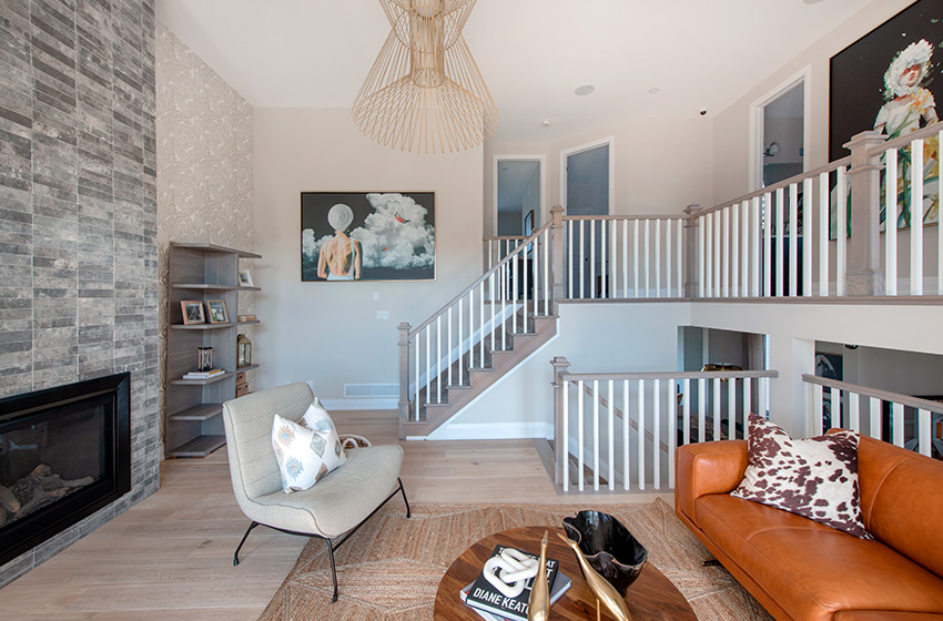 Killarney Staircase, Single Family Home - Minto Communities Ottawa