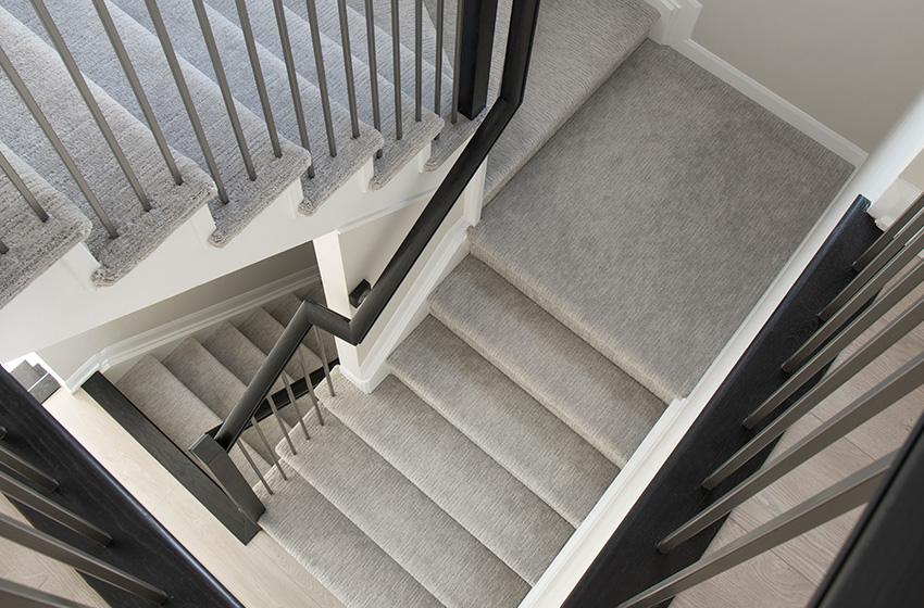 Kinghurst Staircase, Single Family Home - Minto Communities Ottawa