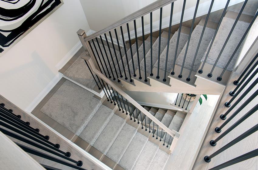 Quinton Staircase, Single Family Home - Minto Communities Ottawa