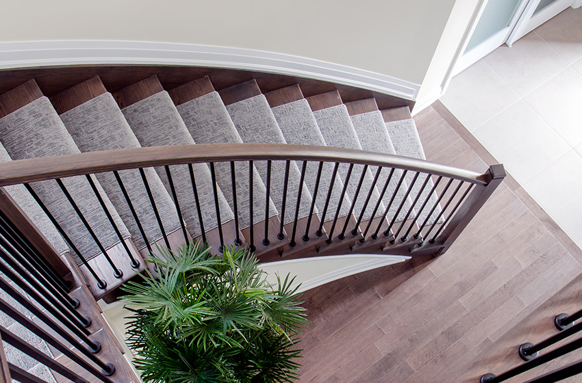 Stanley Staircase, Single Family Home - Minto Communities Ottawa