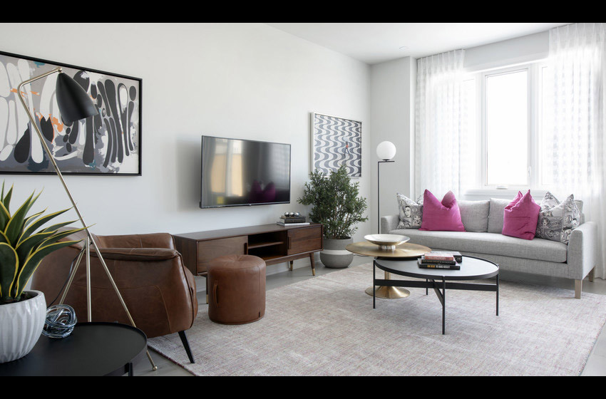 Haven - Executive Townhome - Living Room