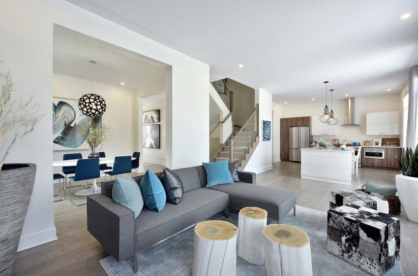 Heartwoood - Single Family Home - Living Room