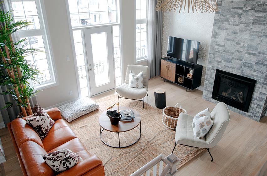 Killarney Living Room, Minto Communities Ottawa