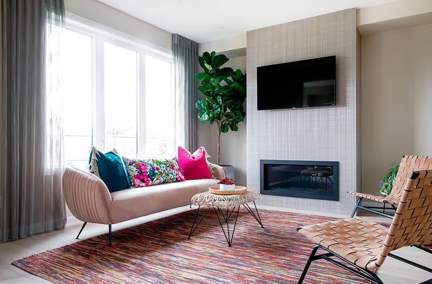 Kinghurst Living Room, Minto Communities Ottawa