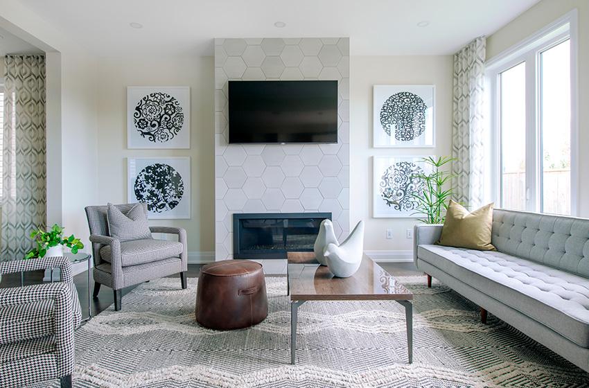Stanley Living Room, Minto Communities Ottawa