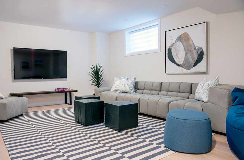 Clairmont, Single Family Home - Basement
